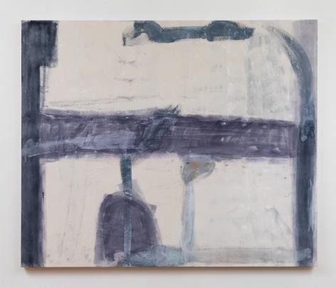"Virva Hinnemo. Waterfront. 2017. Acrylic on canvas. 50"" x 60"""