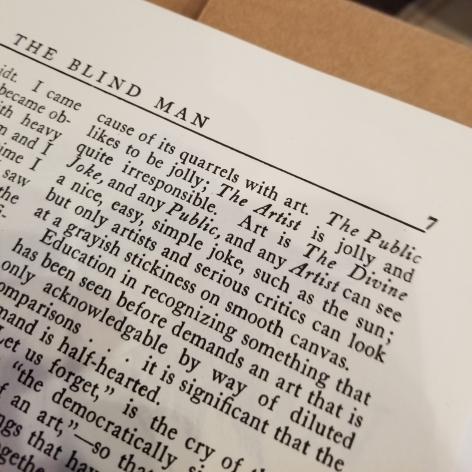 Barry Schwabsky's The Divine Joke at Anita Rogers Gallery