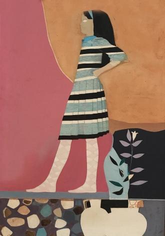 "Jack Martin Rogers. Cretan Girl. 1966. Oil on canvas. 41"" x 28 1/4"""