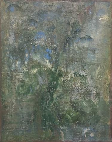 """Eric Holzman's Spring (Oil on canvas. 14"""" x 11"""") ar Anita Rogers Gallery"""
