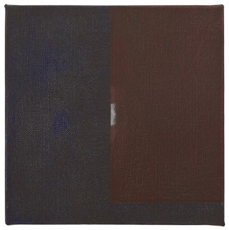 "Jan Cunningham. Lambent. 2019. Oil on linen. 12"" x 12"" at Anita Rogers Gallery"