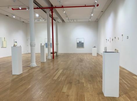 Installation of Gordon Moore & Mark Webber in Soho, NYC