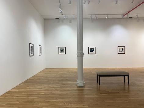 Installation view of Mandy Vahabzadeh: Photographs at Anita Rogers Gallery