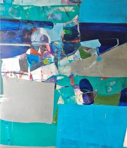 "Robert Szot. Untitled #22. 2019. Oil on linen. 72"" x 60"""