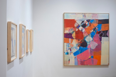 Installation view of Robert Szot: Then Again, Who Does? at Anita Rogers Gallery