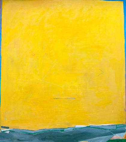 "Tristan Barlow. rakes & ladders. 2016-2017. Oil on linen. 70 3/4"" x 63"""
