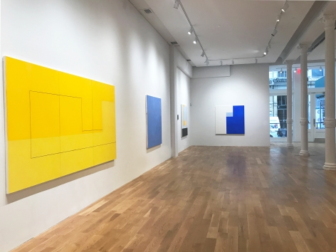 Installation view of Jan Cunningham's solo exhibition at Anita Rogers Gallery