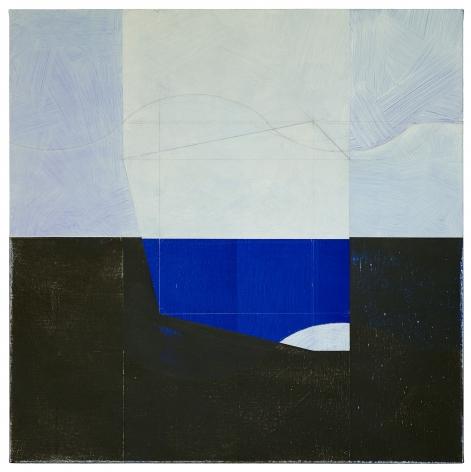 "Jan Cunningham. Arabesque Painting XII. 2017. Oil on linen. 27"" x 27"""