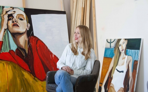 In the Studio: Jenni Hiltunen