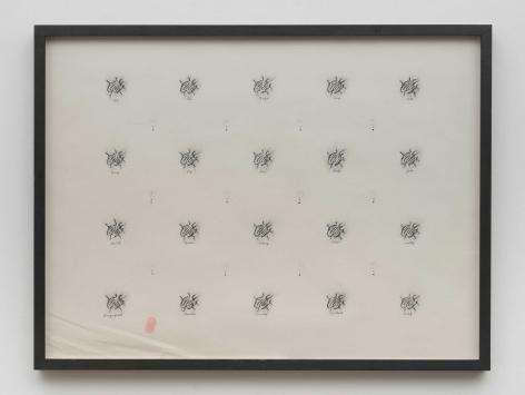 "David Lynch, Untitled (from a ""Ricky Board"")"