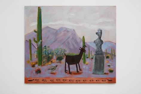 Raul Guerrero, A Desert Road, Arizona, 2018