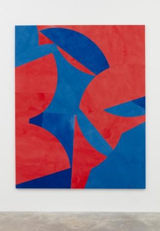 Sarah Crowner Low Hanging Fruit (Red and Blue), 2017