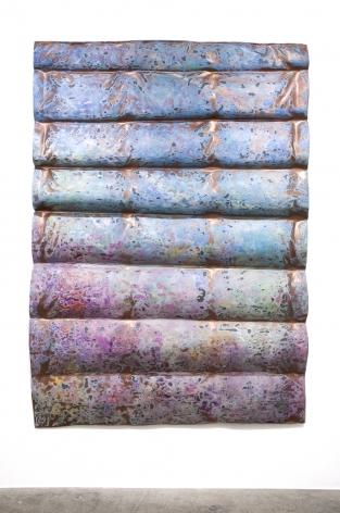 Rosha Yaghmai, Underwater Vision (copper awning), 2016