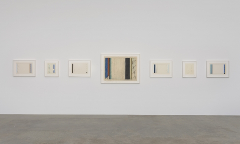 Installation view of Jiro Takamatsu at Kayne Griffin Corcoran, Los Angeles