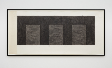 Mary Corse, Untitled (Three Arches), 1992