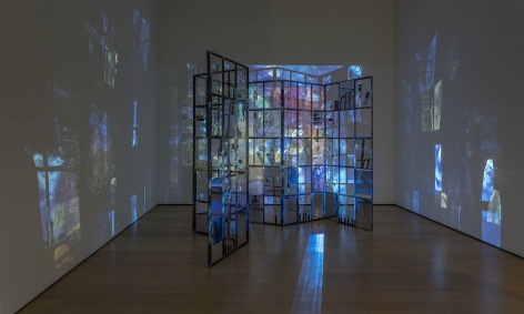 Rosha Yaghmai, installation view of Made in LA 2018 at the Hammer Museum, Los Angeles.