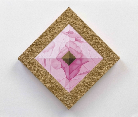 Linda Stark, Rose Quartz Pyramid, 2005