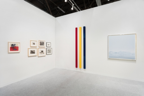 Installation view of Kayne Griffin Corcoran at the Armory Show 2019