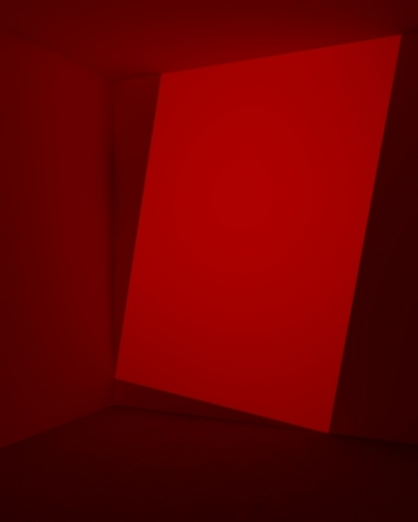 James Turrell  Decker, Red, 1968