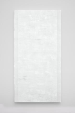 Mary Corse Beveled White Inner Band, 2010