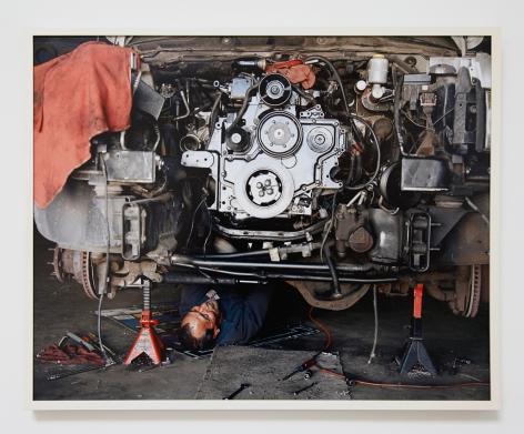 Justine Kurland, Rebuilt Engine, 2013