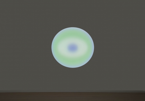 James Turrell LOGOS (97), Medium Glass Circle, 2017