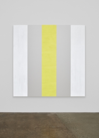 Mary Corse, Untitled (White/Yellow), 2015