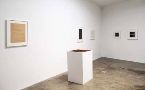 Installation view of Jiro Takamatsu at Kayne Griffin Corcoran, Los Angeles