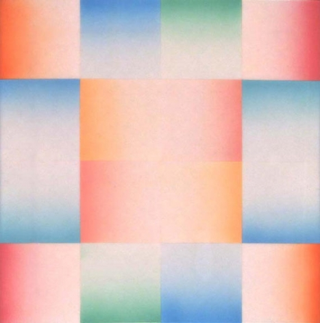 Judy Chicago, Study for Big Blue Pink from Flesh Gardens