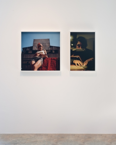 Giulia Piscitelli  Left: Reflect (Italsider), 1995