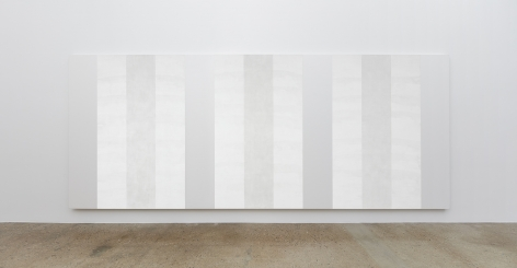 Mary Corse, Untitled (White Multiple Inner Band, Horizontal Strokes), n.d.