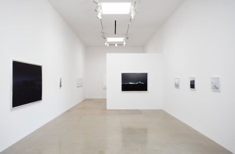 "Installation view of ""Liza Ryan: Antarctica"" at Kayne Griffin Corcoran, Los Angeles"
