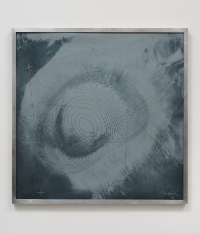 James Turrell, Original Crater Contours in Pale Grey