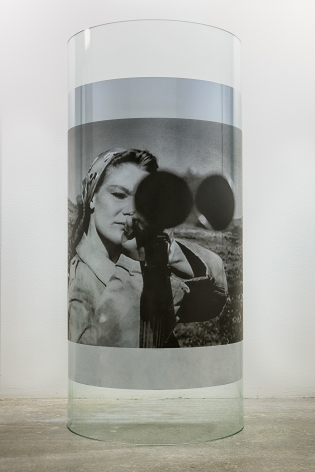 Servane Mary, Untitled (Woman with Gun), 2015