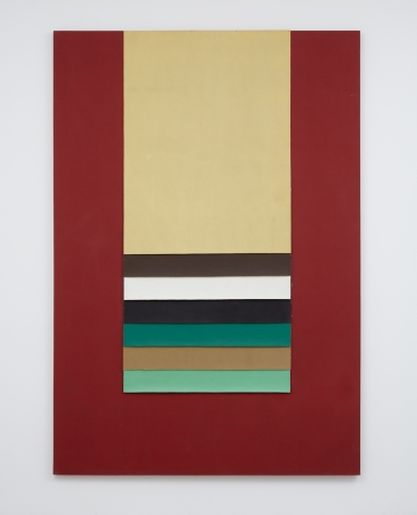 Mary Obering Untitled #10, 1972