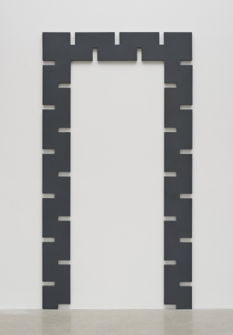 Rosha Yaghmai, Gates (graphite)