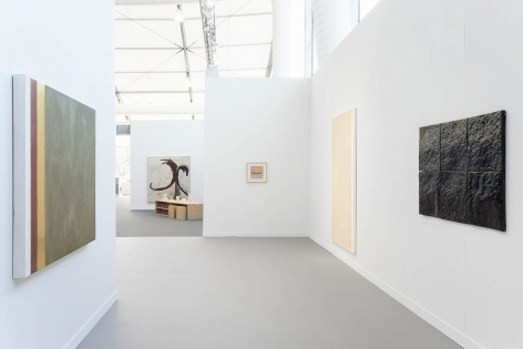 Installation view of Frieze New York 2018