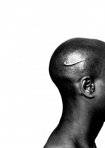 Hank Willis Thomas Branded Head, 2003