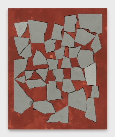 Sam Moyer Red Wall, 2019
