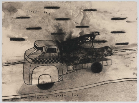 David Lynch, Truck Carries Log