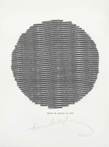 Henri Chopin, Danse, 1991