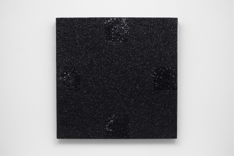 Mary Corse Untitled (Black Light Painting, Glitter Series), 1976