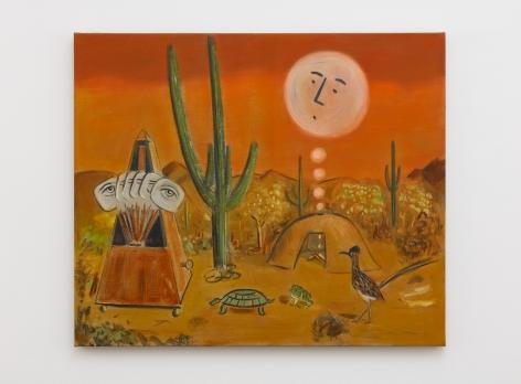 Raul Guerrero Saguaro Cactus on the Arizona Desert, 2018