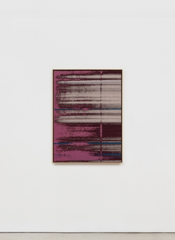 Mika Tajima Negative Entropy (Stripe International Inc., Cultural Planning Department, Fuchsia, Single), 2019