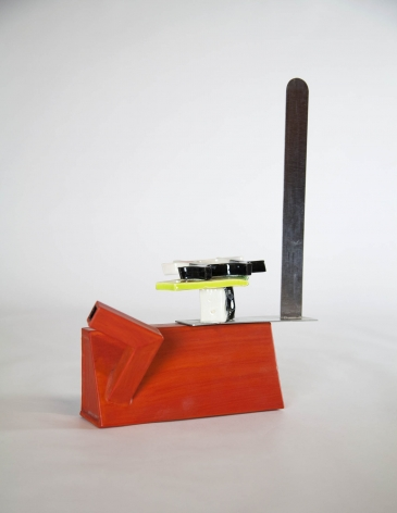 Peter Shire Saki Pot As The World Turns, 2011