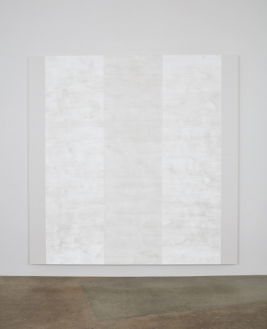 Mary Corse, Untitled (White Inner Band with White Sides, Beveled), 2011