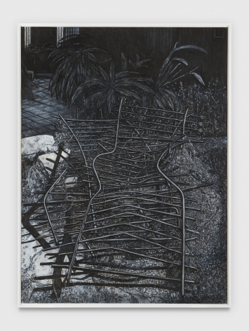 Willie Birch Pieces of a Fence, 2013