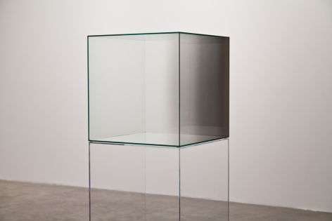Larry Bell, Cube #16 (green)
