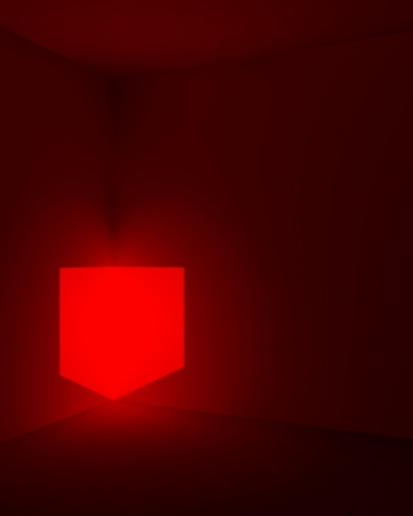 Kane Griffin Corcoran Represented Artist James Turrell Art Work Munson, Red