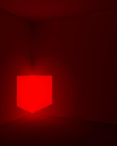 Kane Griffin Corcoran Represented Artist James Turrell Art Work Munson, Red